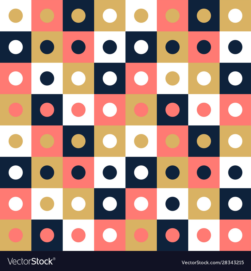 Seamless pattern background design modern square