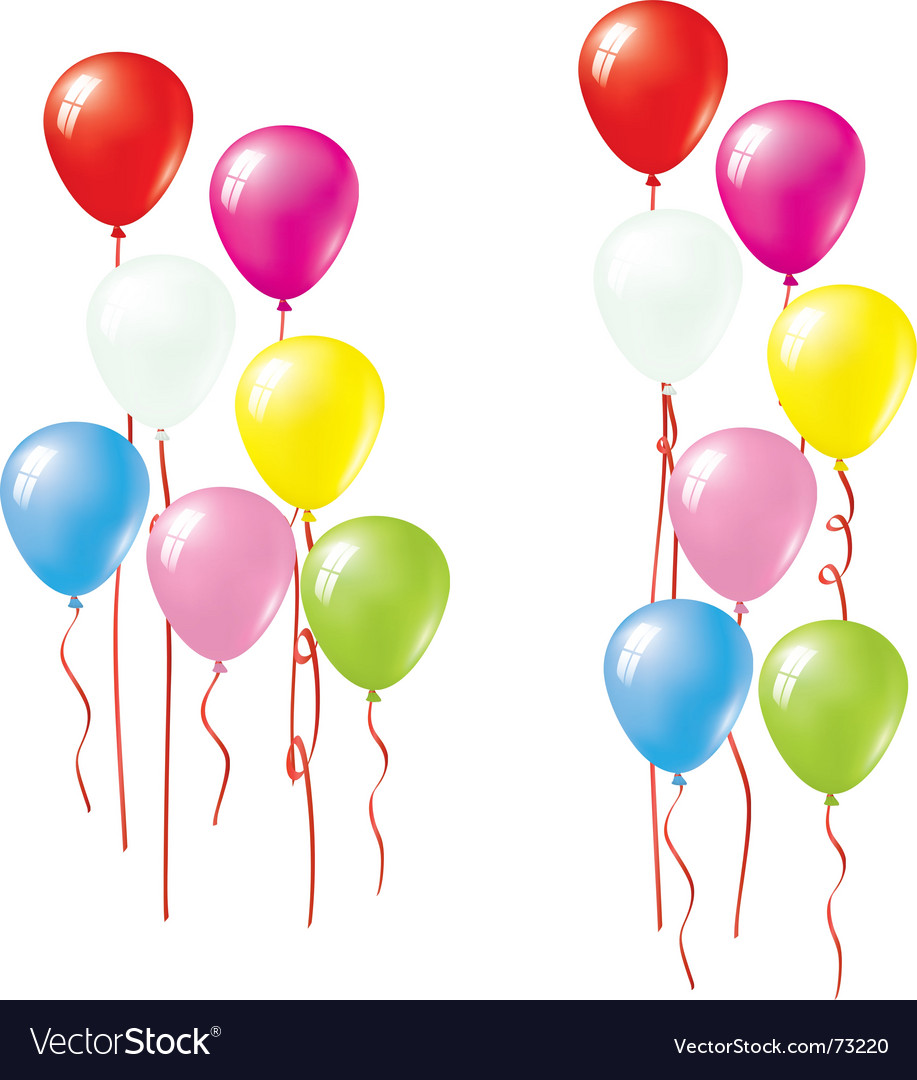 balloon royalty free vector image vectorstock rh vectorstock com balloon vector icon balloon vector free download