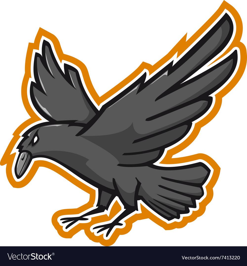 Crow Mascotte