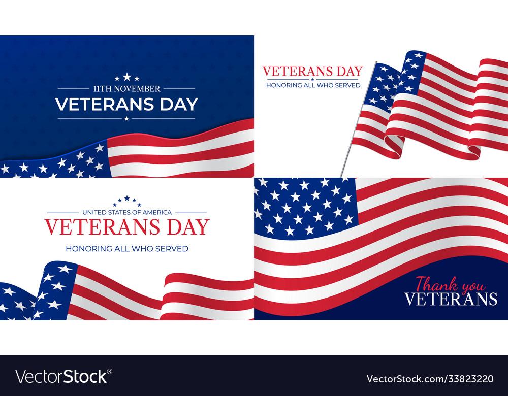Veterans day happy day celebration