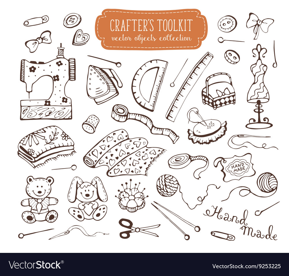 Crafting tools kit