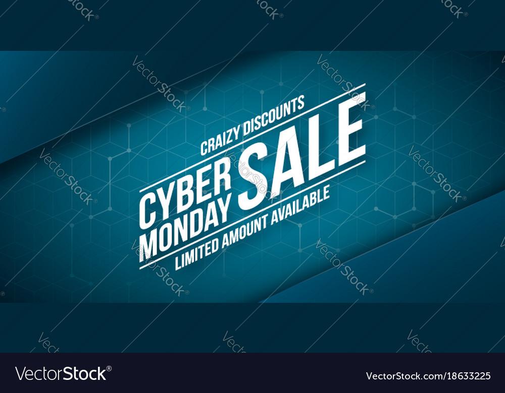 4e50b29f07e Cyber monday sale crazy discounts banner