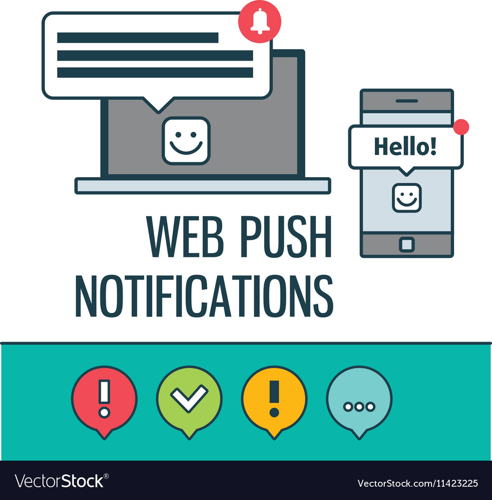 Web push notifications for your website with