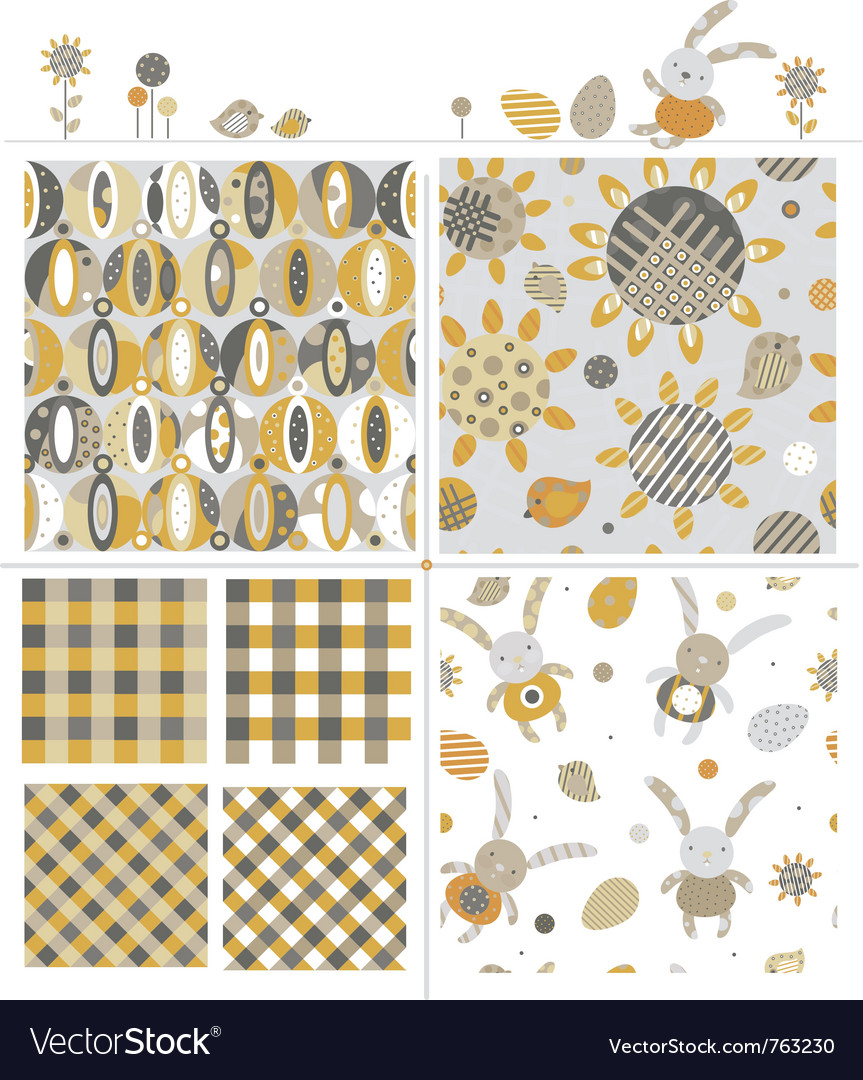 Cute patterns and elements