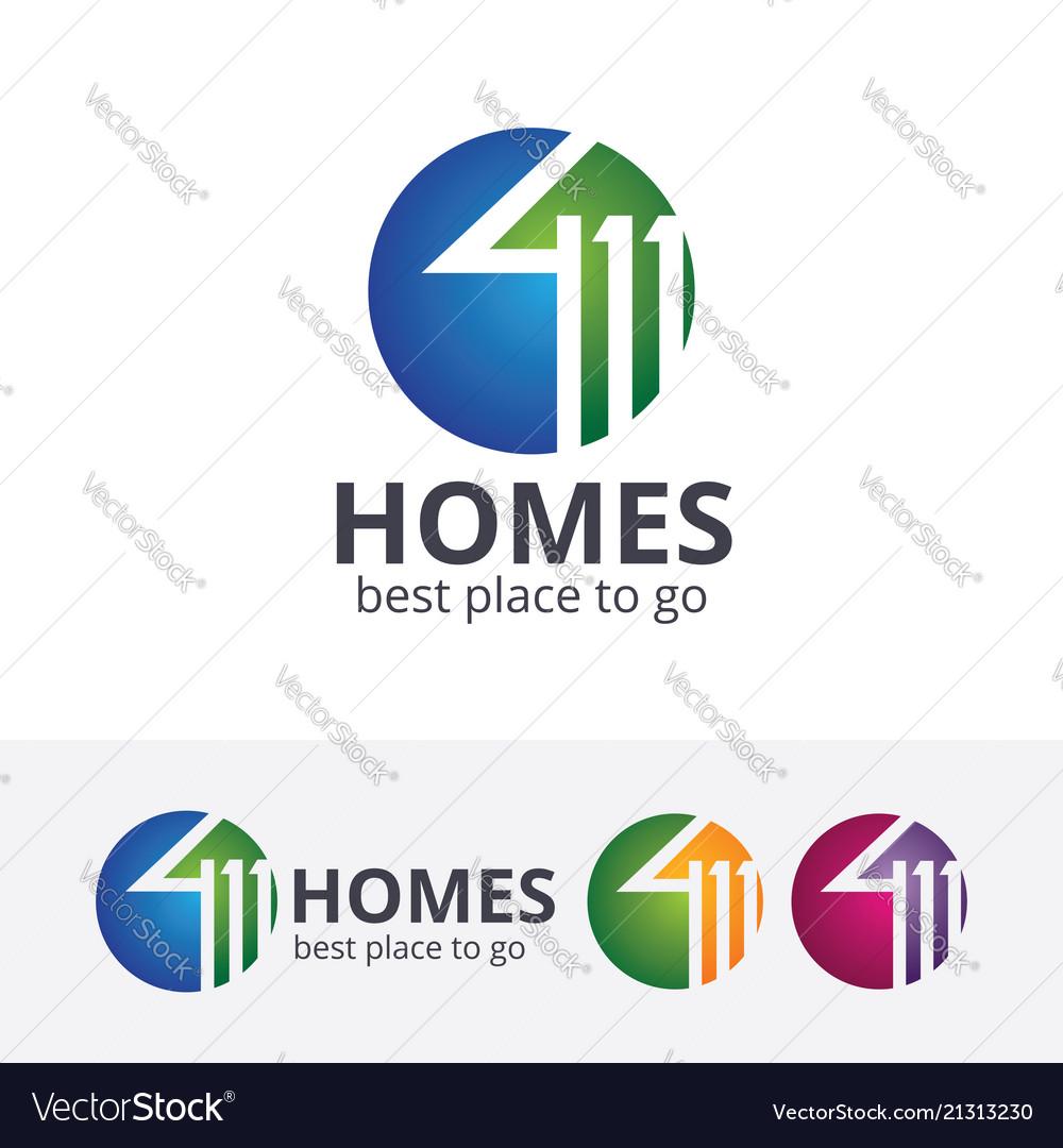 Homes logo design