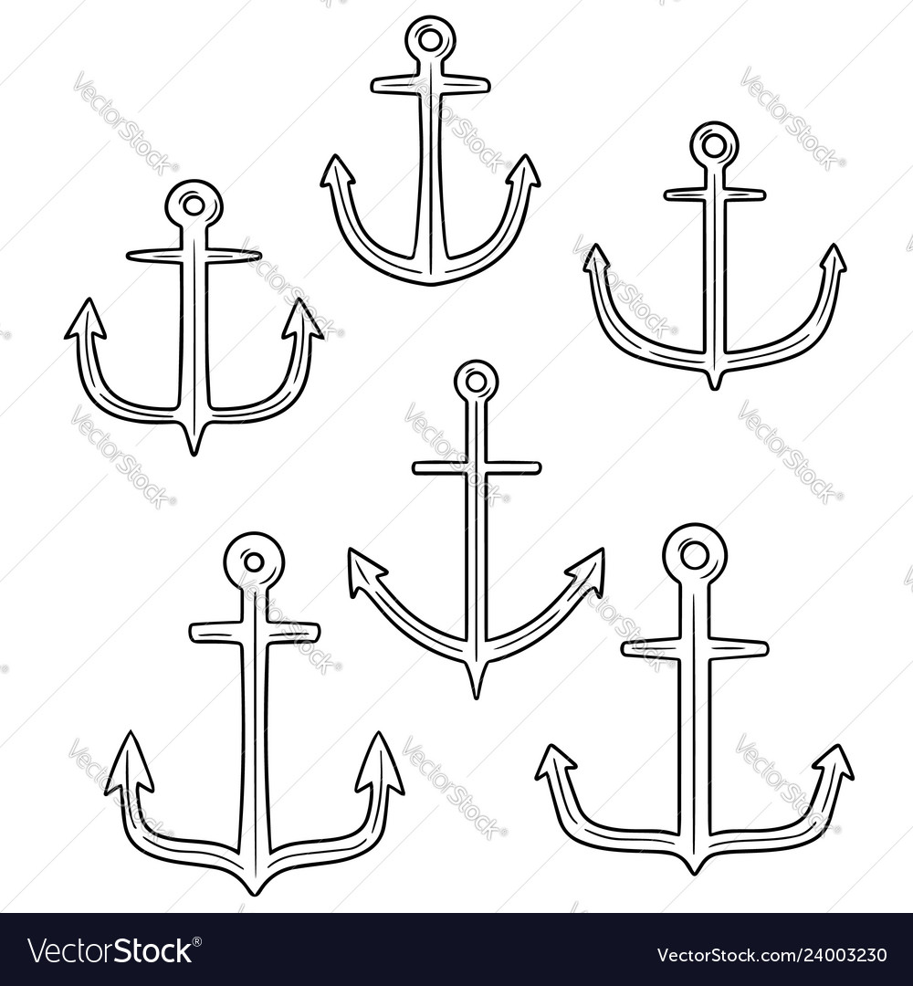 Set of anchor