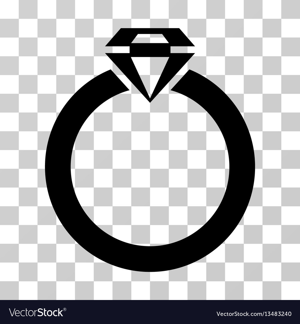 Diamond ring icon