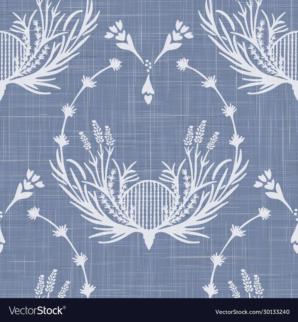 French shabby chic lavender damask texture