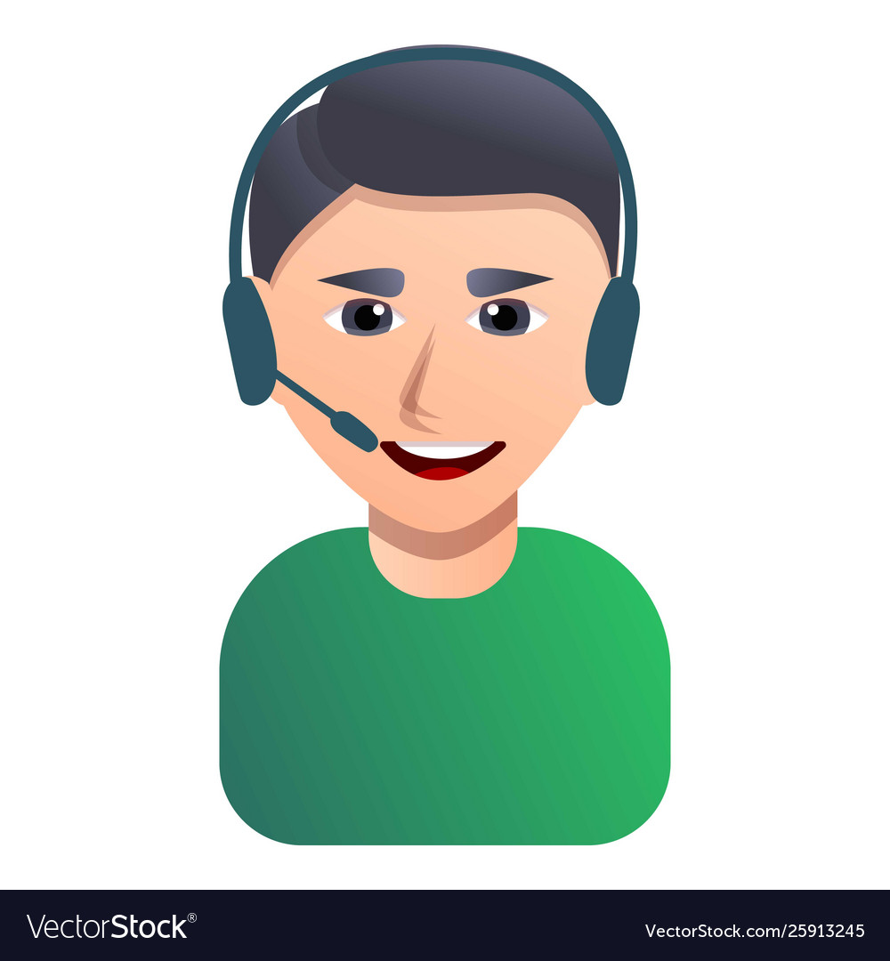 Call Center Employee Icon Cartoon Style Royalty Free Vector,Checkers Rules