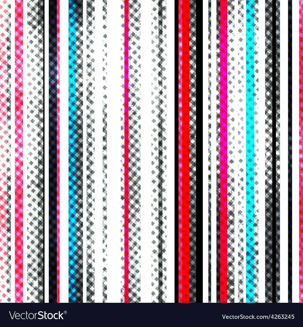 Grunge stripes seamless texture vector image