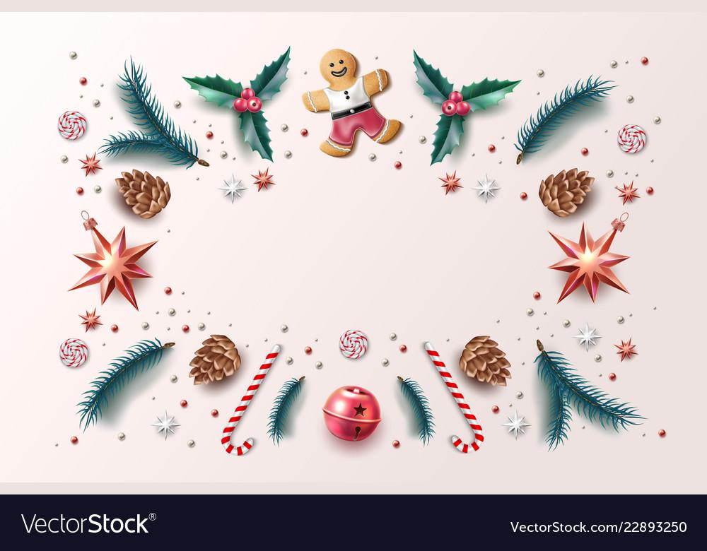 Christmas background holly spruce jingle a