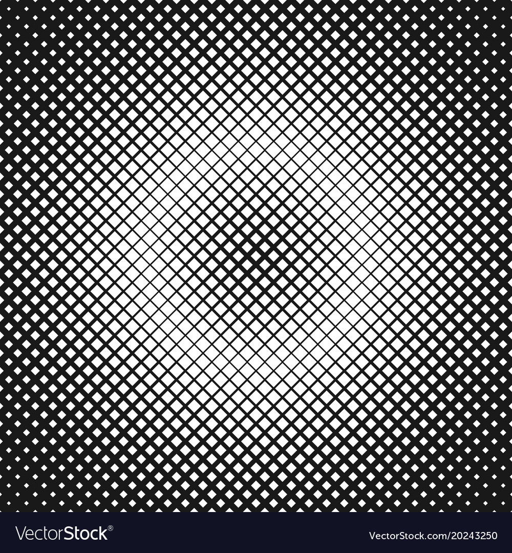 Halftone square pattern background design