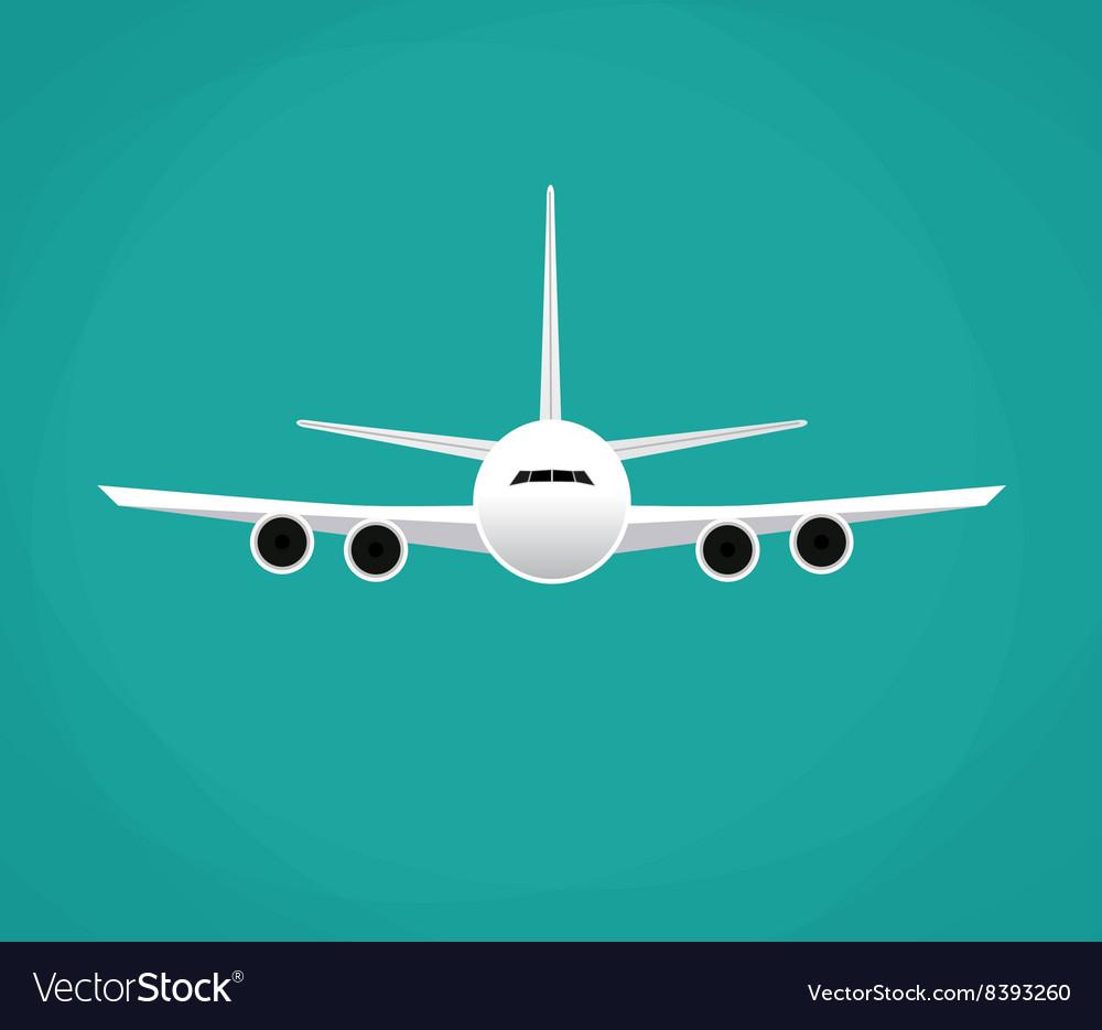 Civil aviation travel passenger air plane