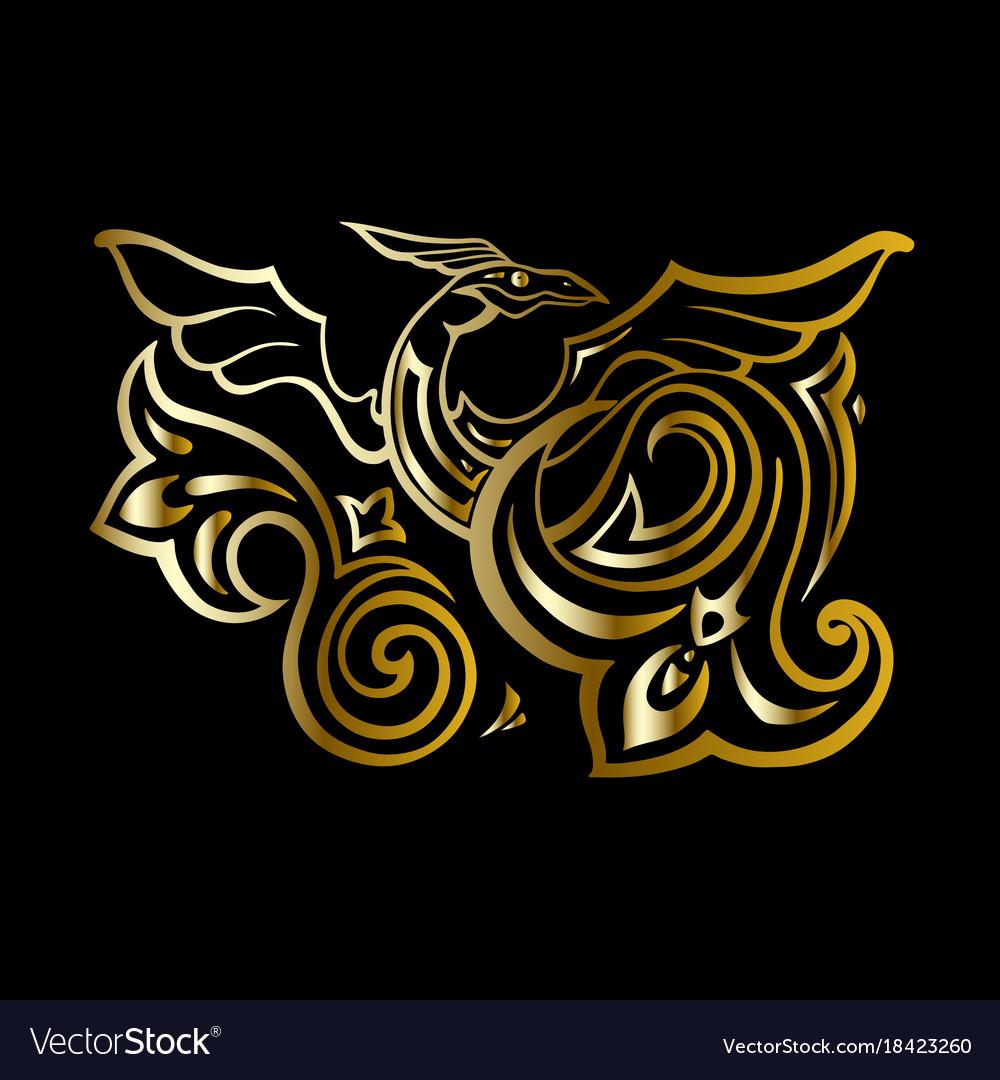 Dragon traditional ethnic