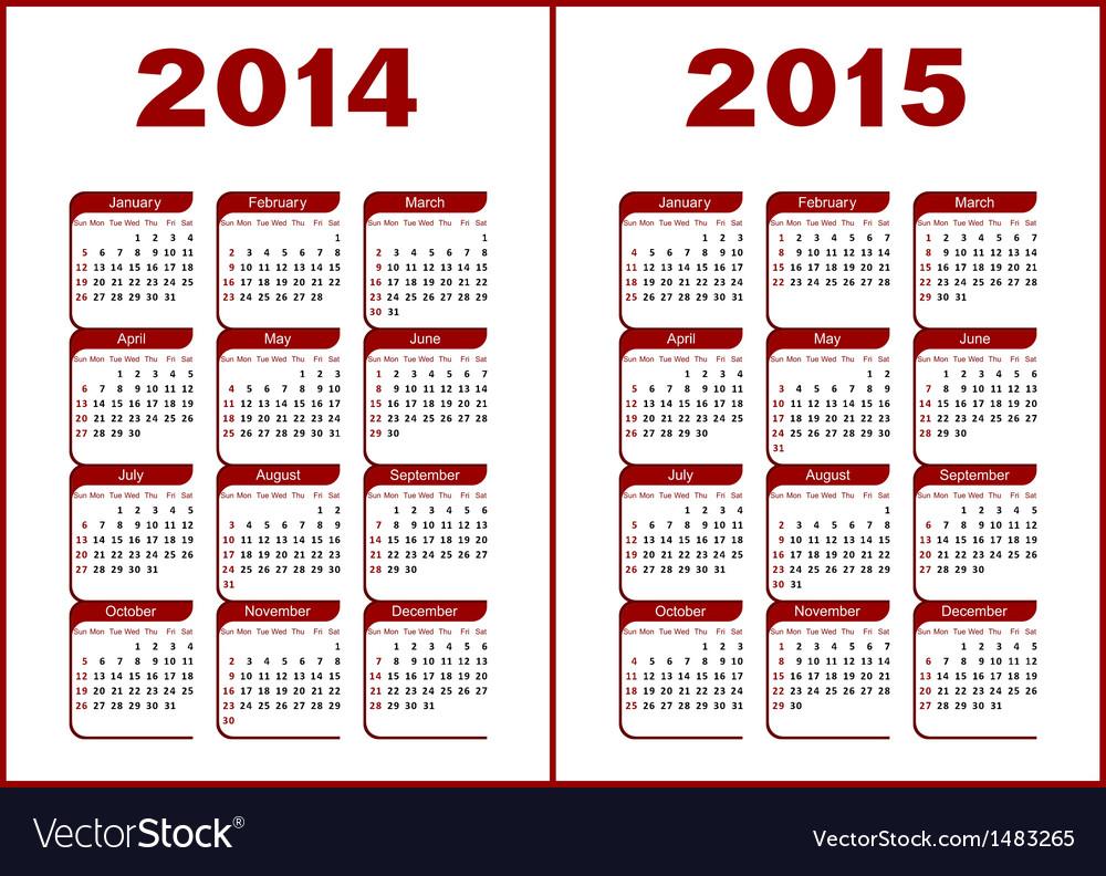 Calendar 20142015