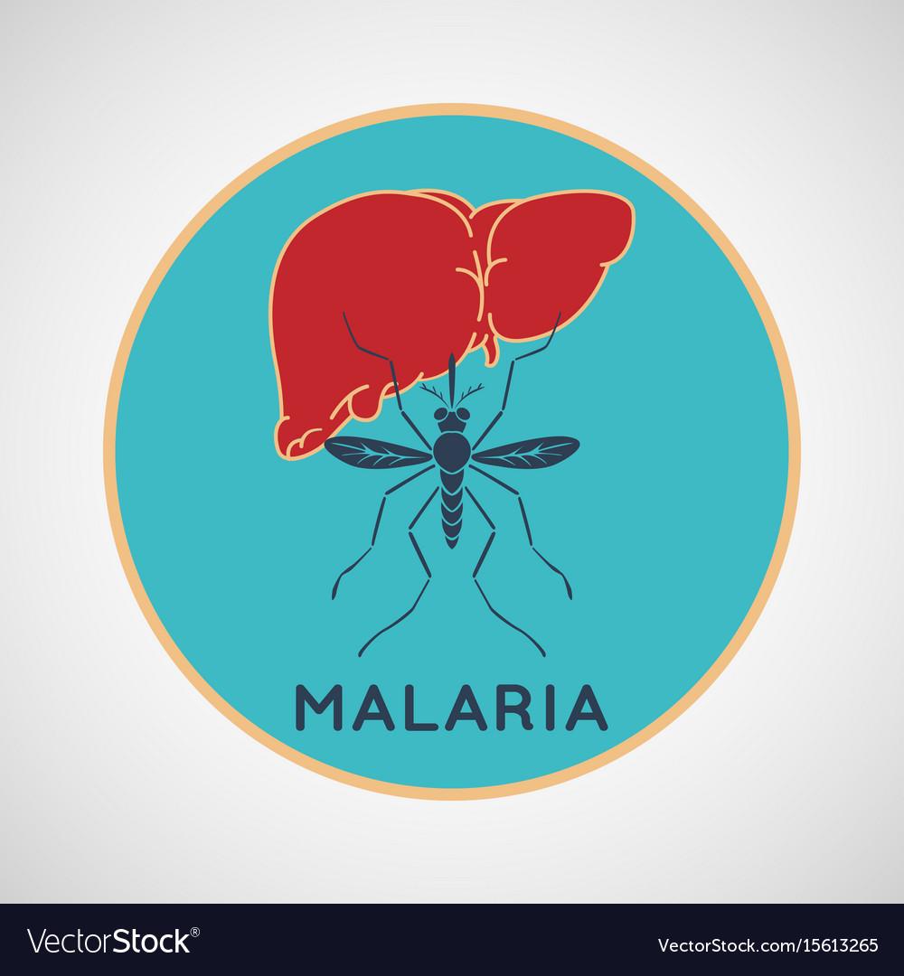 Malaria logo icon design