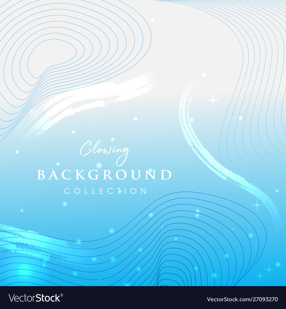 Glowing abstract background design