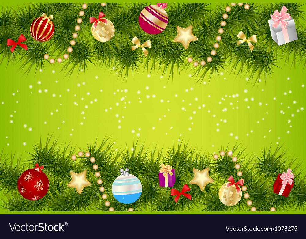Christmas Banner.Elegant Christmas Banner Background