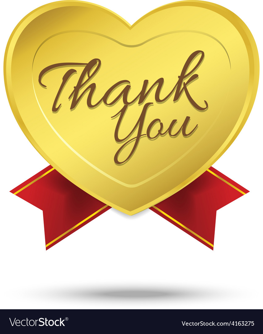 Thank you on banner sign message symbol isolated
