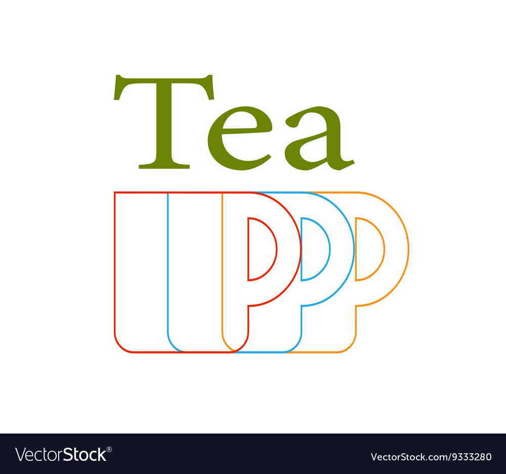 Green Tea Color Vector Image