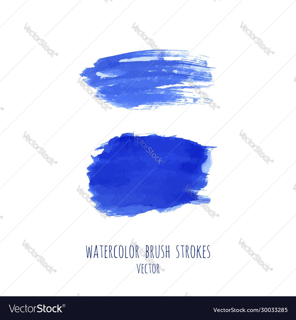 Set navy blue watercolor backgrounds