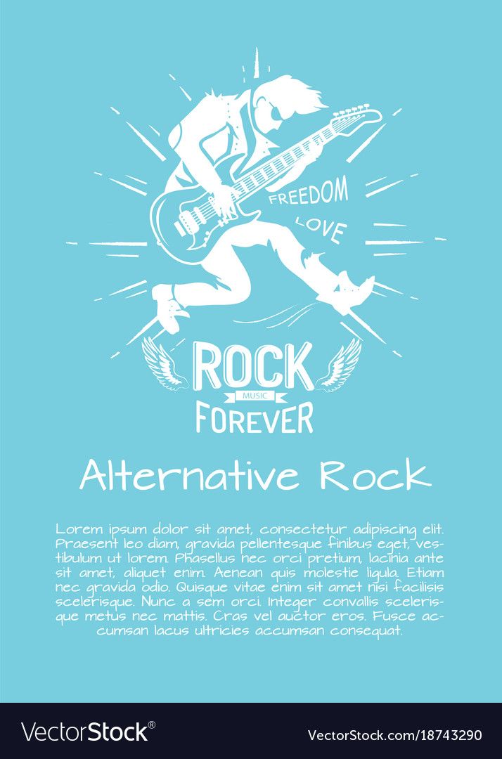 Alternative rock music forever