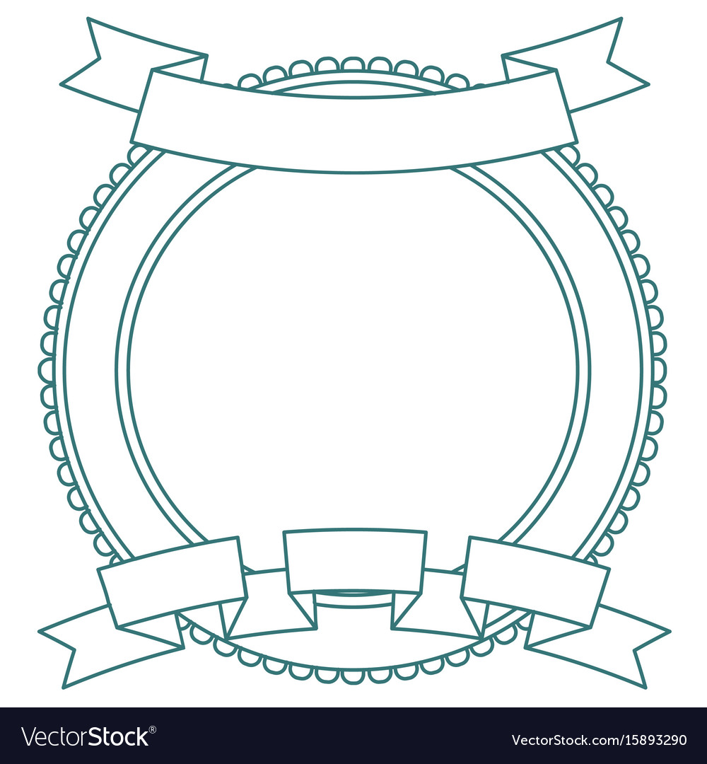 Label and badge templat retro style banner vector image