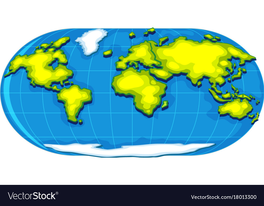 Geography poster with world map royalty free vector image geography poster with world map vector image gumiabroncs Gallery