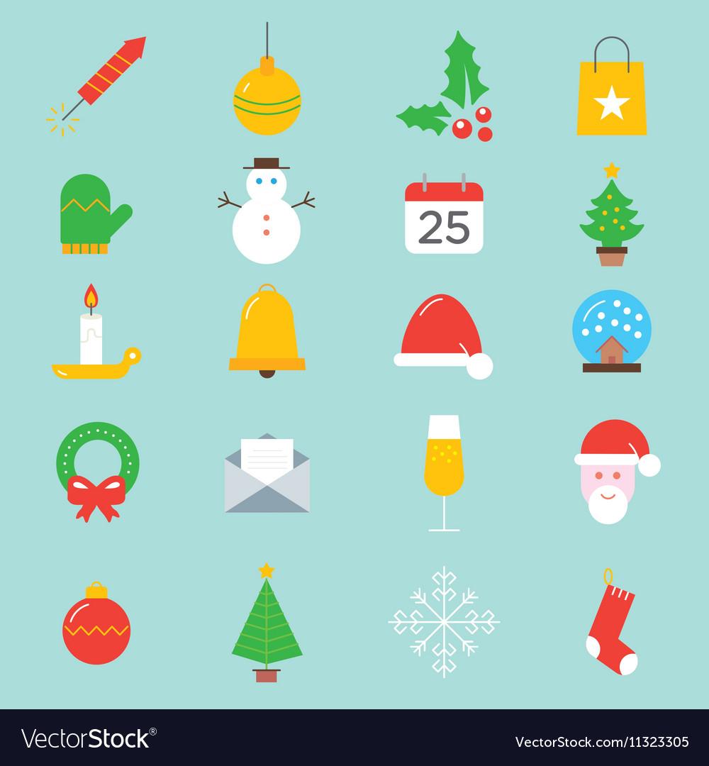 Set xmas icons