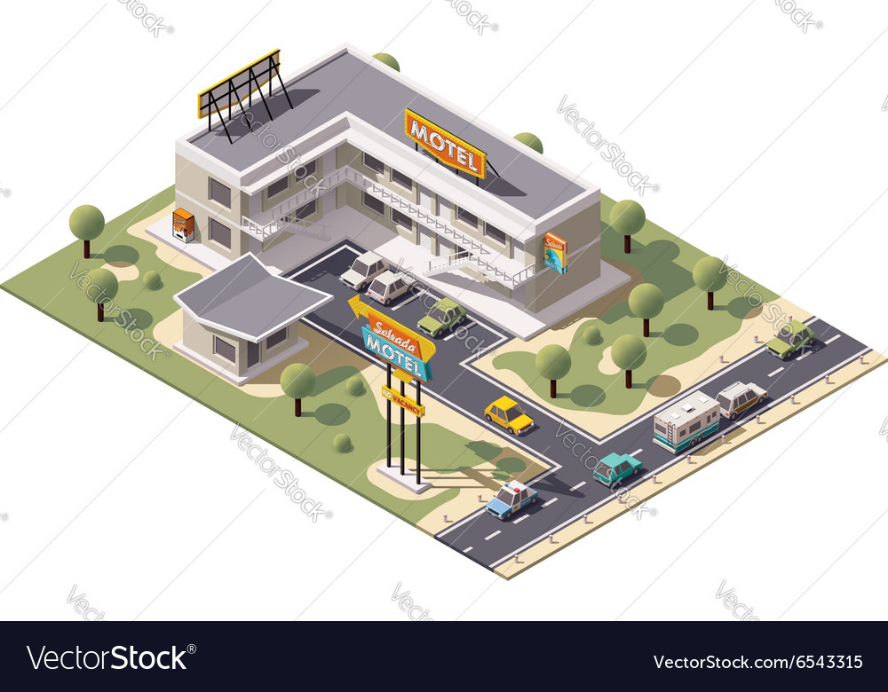 Isometric motel