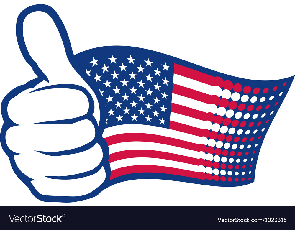 USA thumbs up