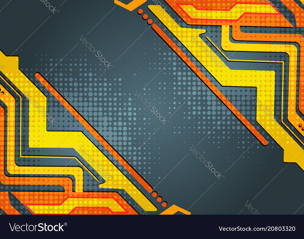 Multicolored abstract geometric background