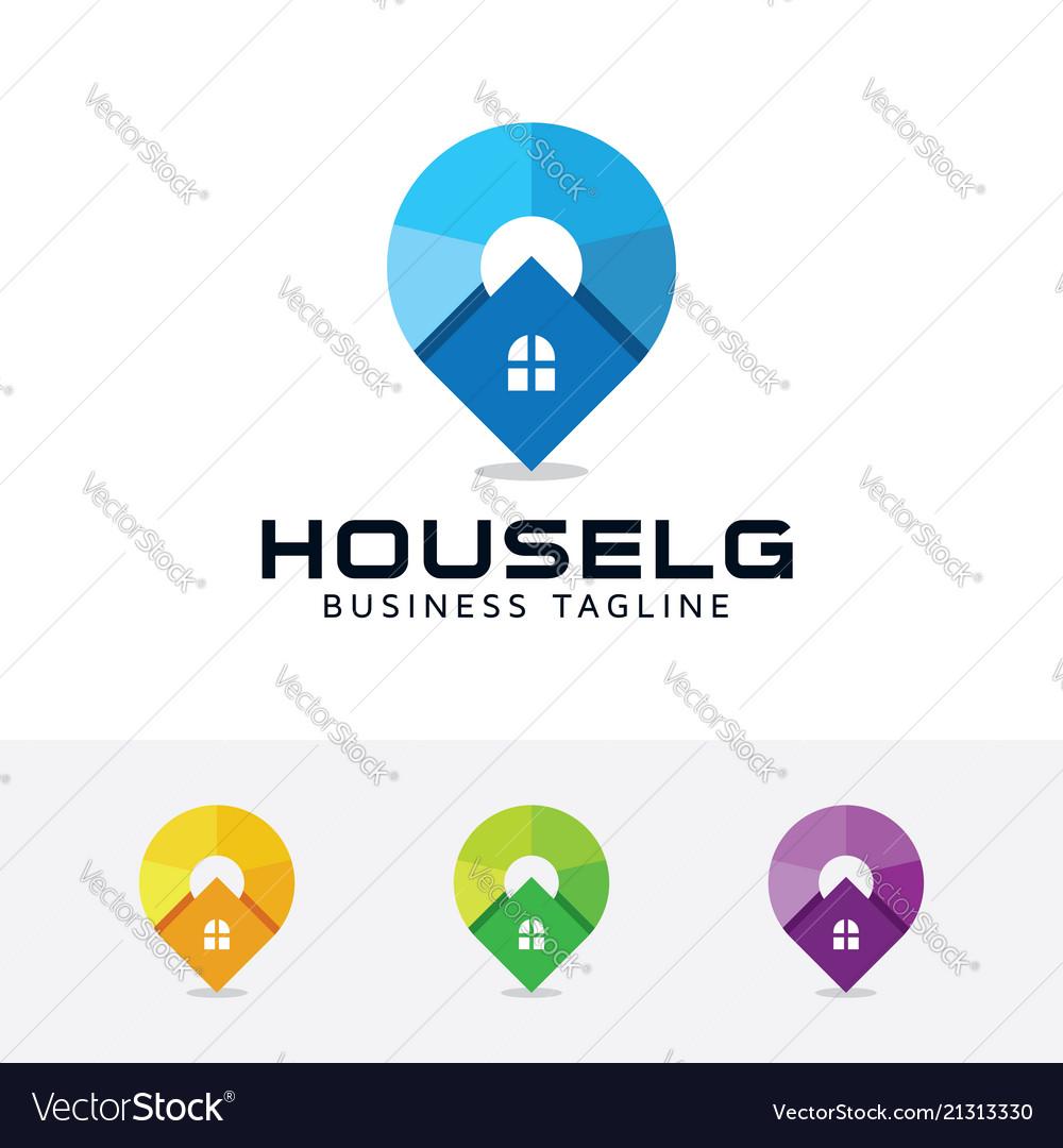 House locator logo design