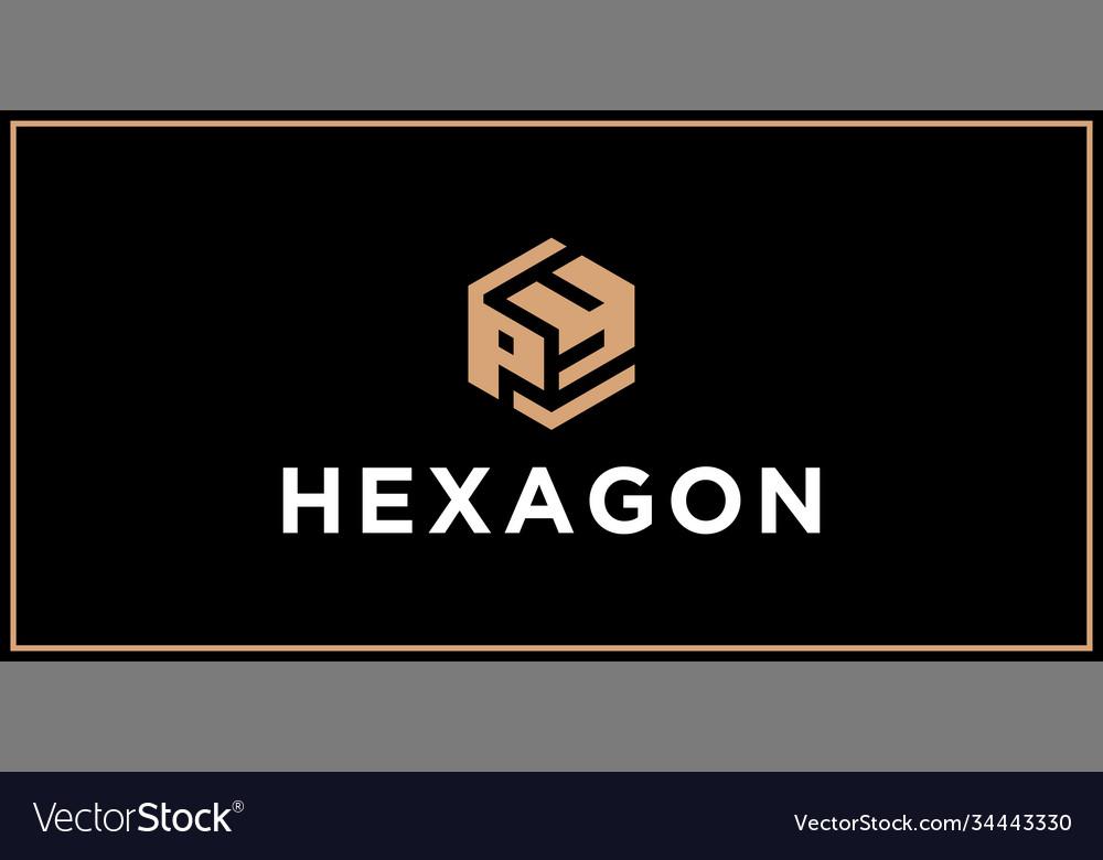 Py hexagon logo design inspiration