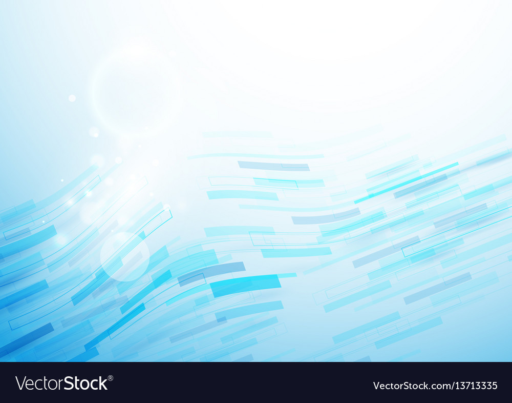 Abstract arrows wave technology background vector image