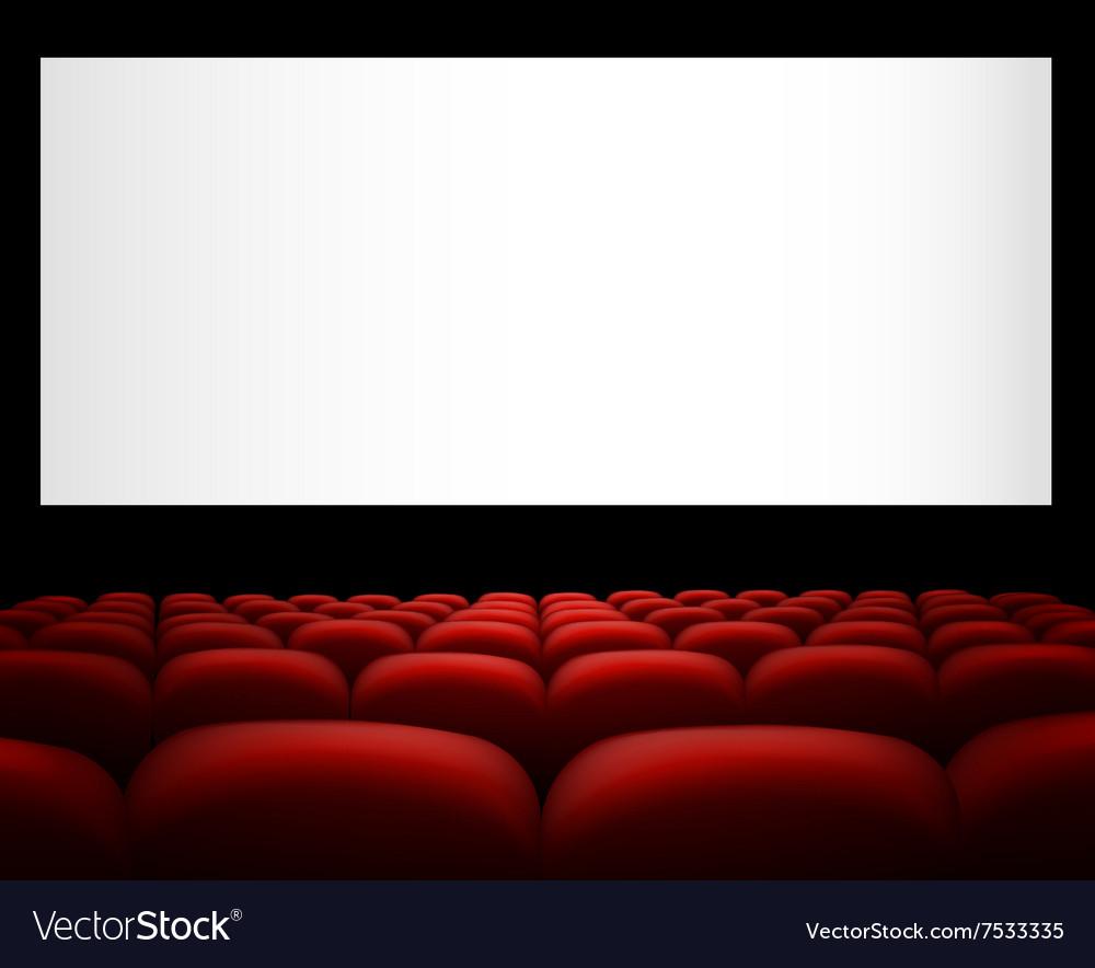 Cinema Background Royalty Free Vector Image Vectorstock