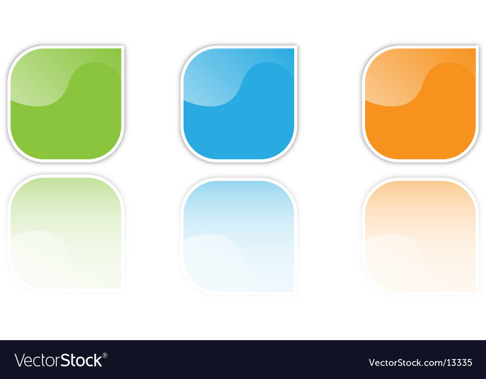 Icons for logos vector image
