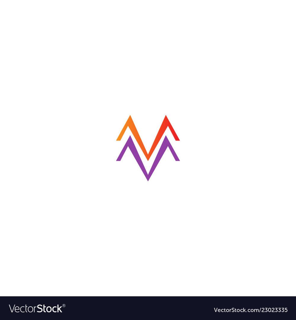 M line colored company logo