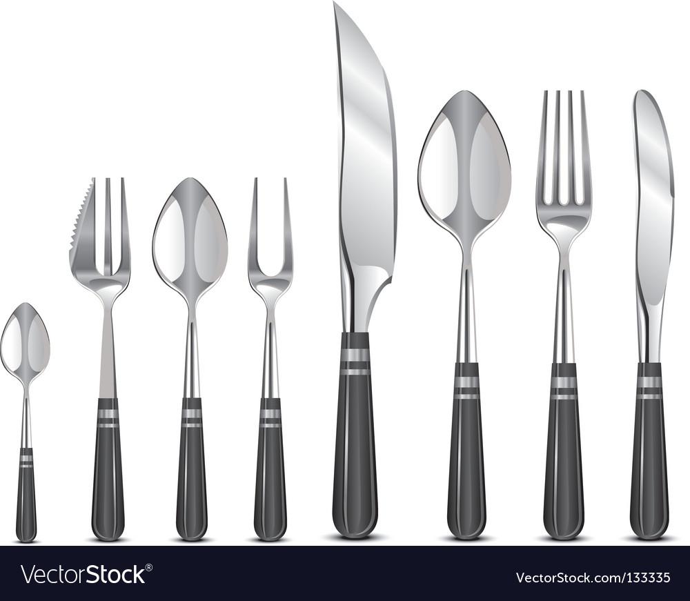 Silver tableware's