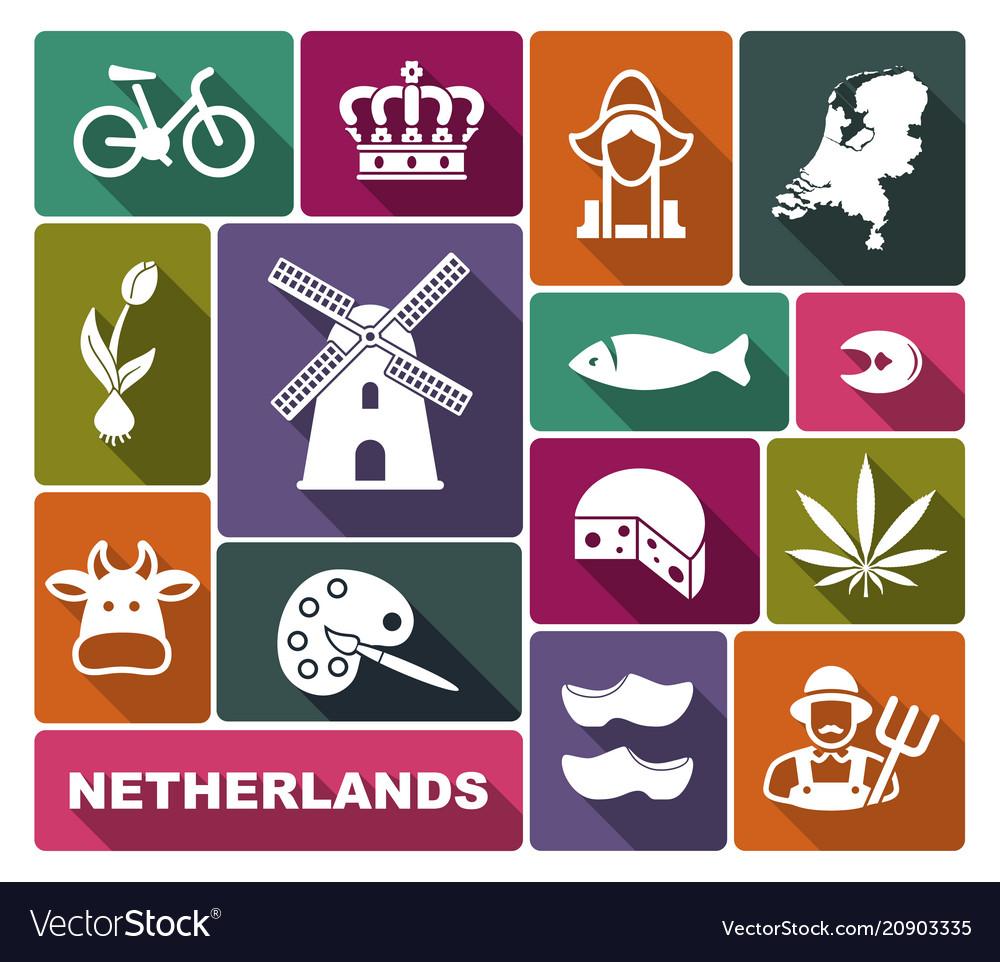 Traditional symbols netherlands