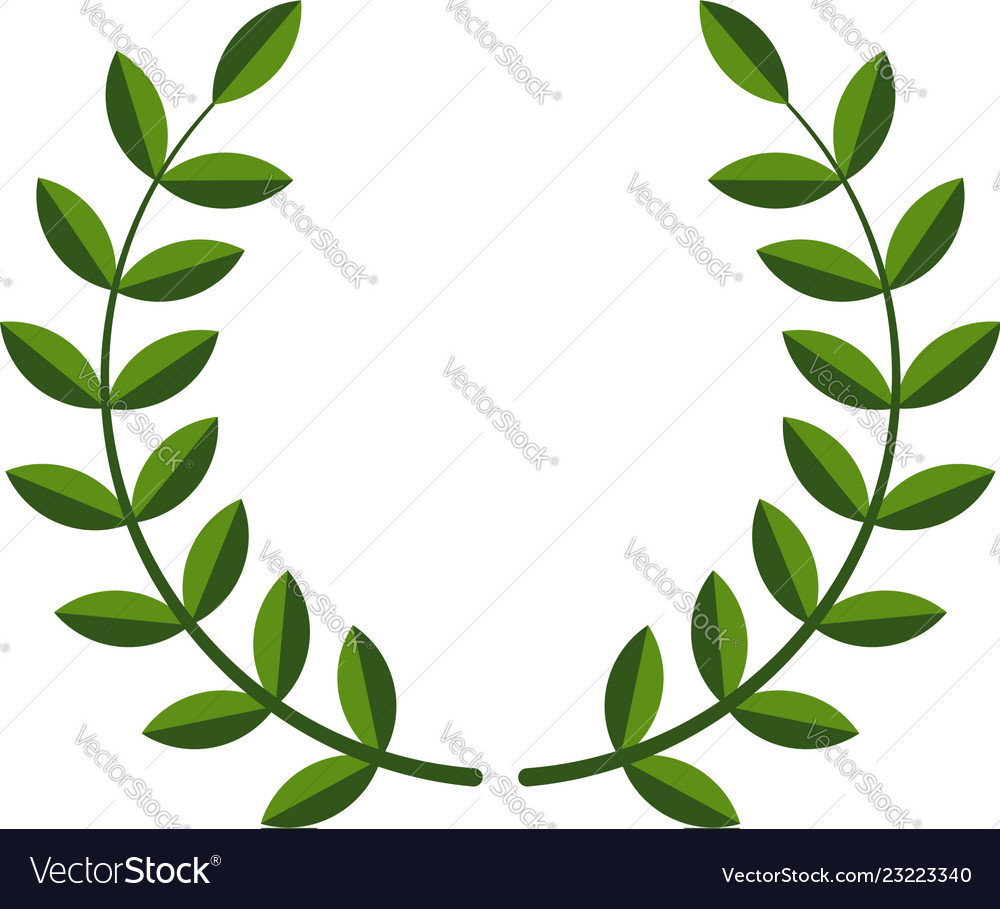 Laurel wreath symbol