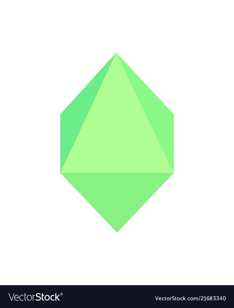 Octahedron geometric shape