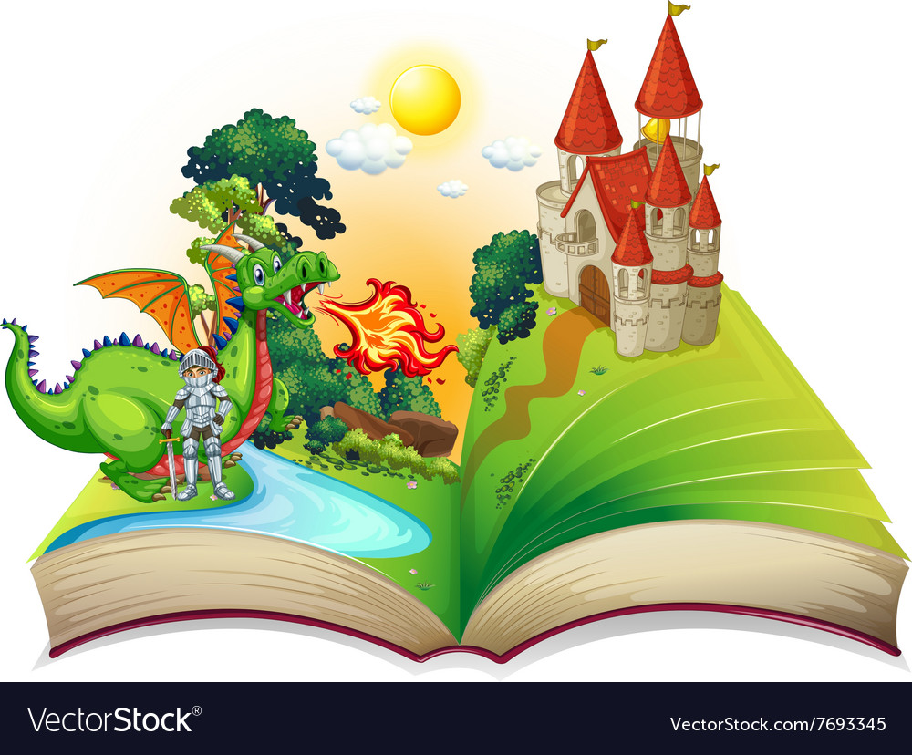 Book of knight and dragon