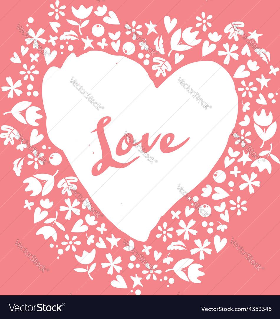 Lovely card heart