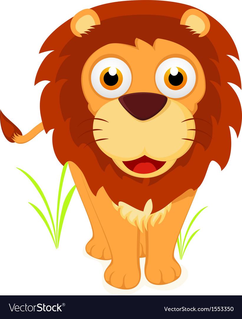 Happy Little lion