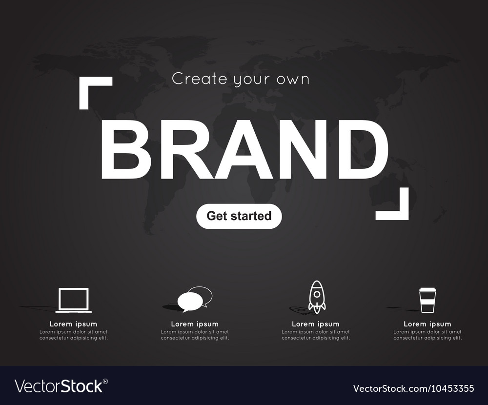 Modern infographic for business concept
