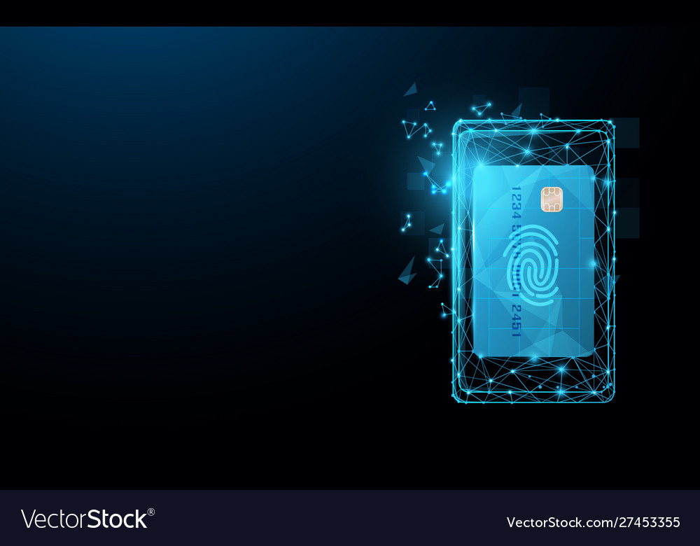Smartphone with credit card icon