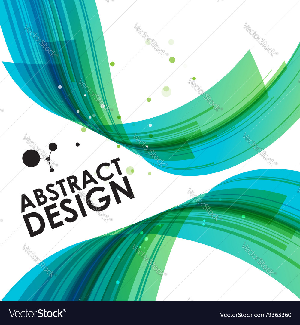 Abstract technology bend background
