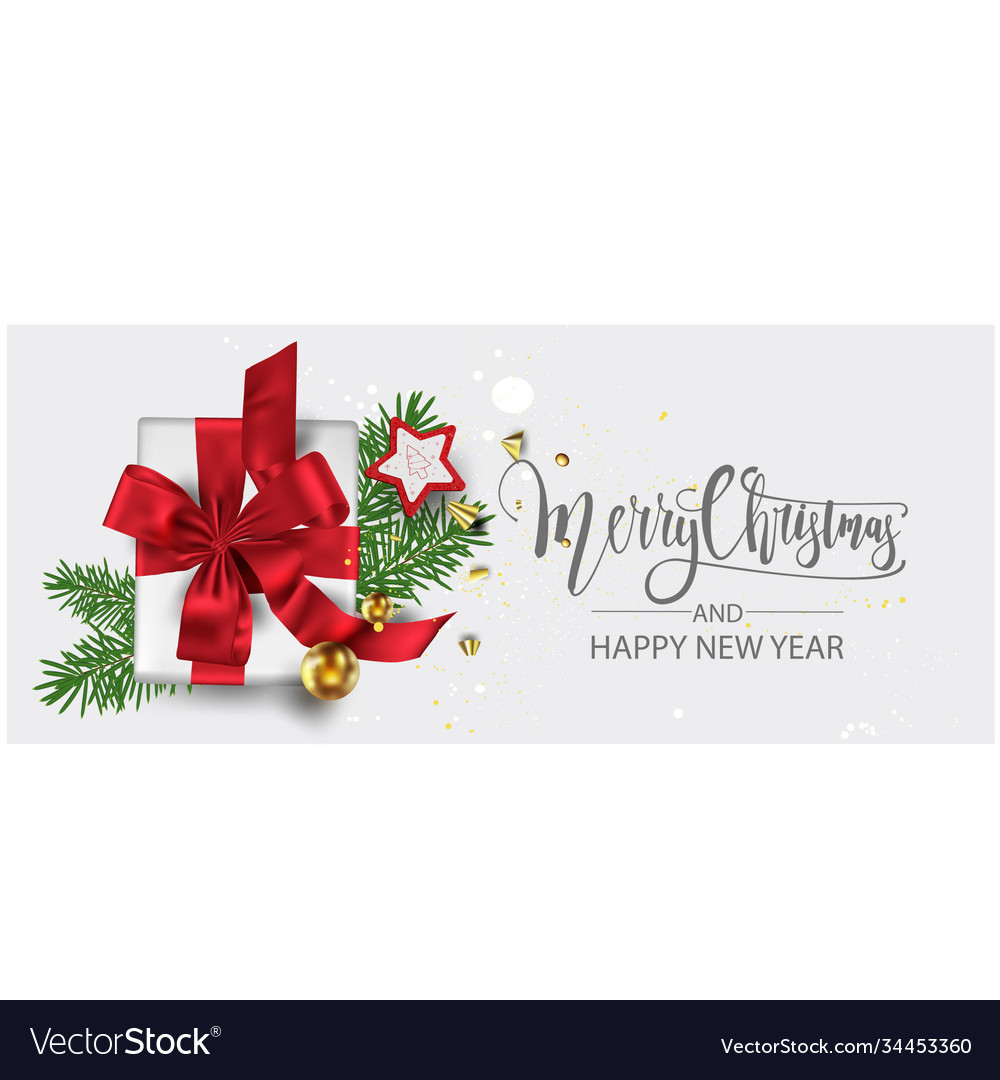 Modern holidays background with christmas tree vector