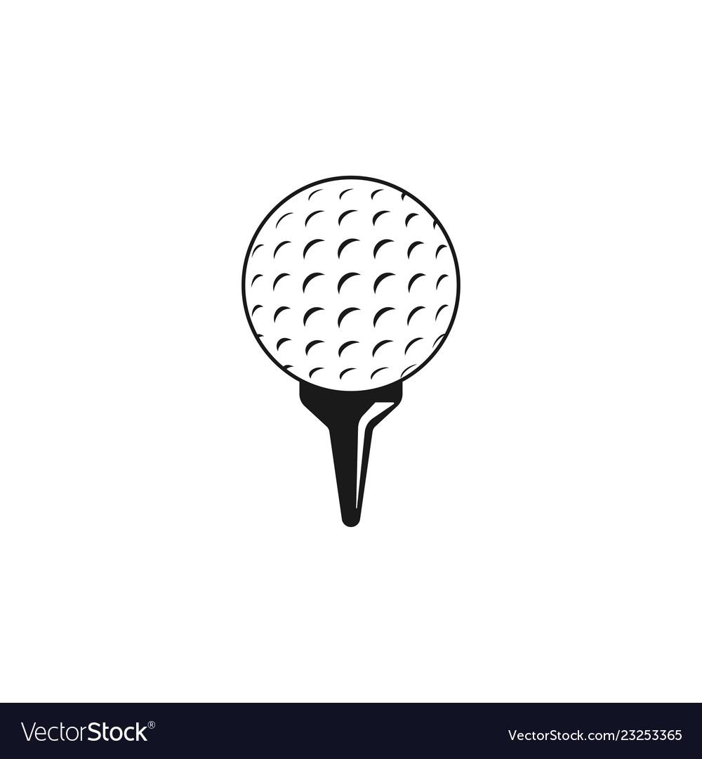 Golf sport graphic design inspiration